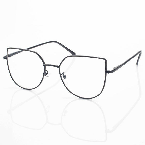 Armação de Óculos Gatinho Celeste LQ95635 Preto