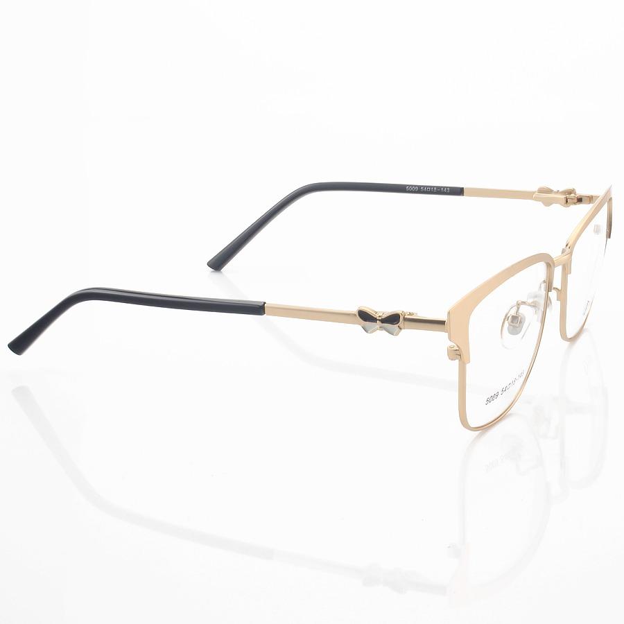Armação de Óculos Quadrada Dior 5009 Dourado