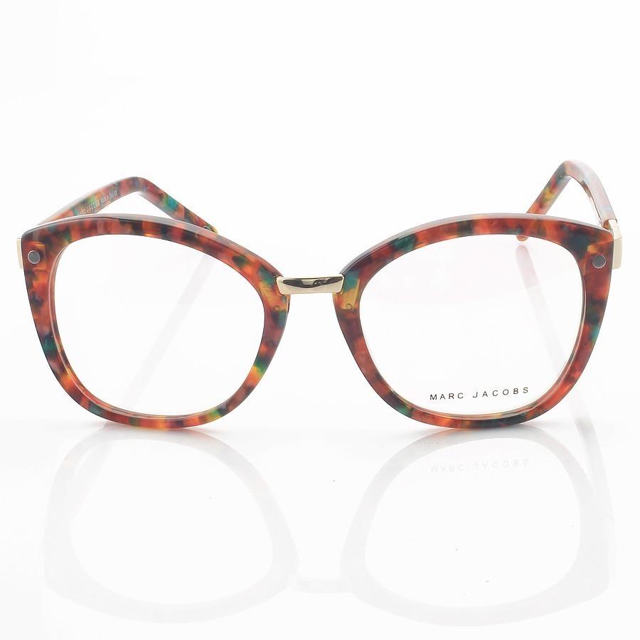 Armação de Oculos Gatinho Marc Jacobs Mj24 Floral