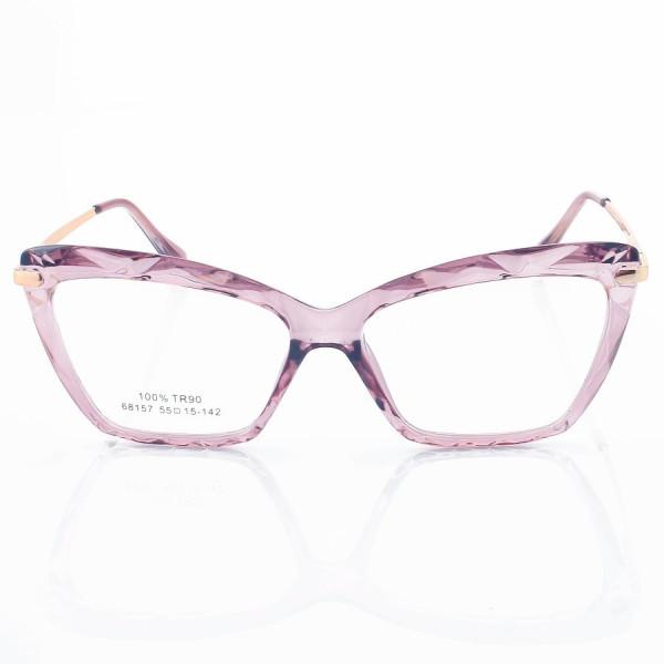 Armação de Óculos Gatinho Dolce & Gabbana DG5025 Diamante Lilás