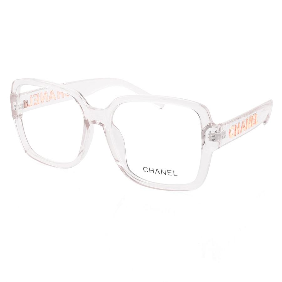 Armação de Óculos Quadrado Chanel CH58782 Transparente
