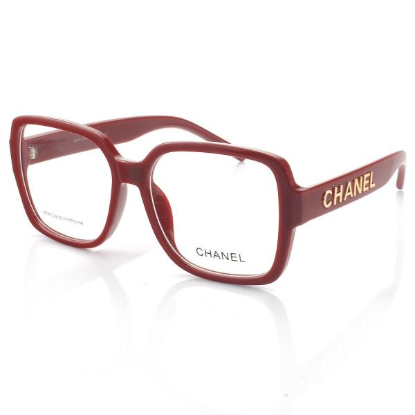 Armação de Óculos Quadrado Chanel CH58782 Vinho