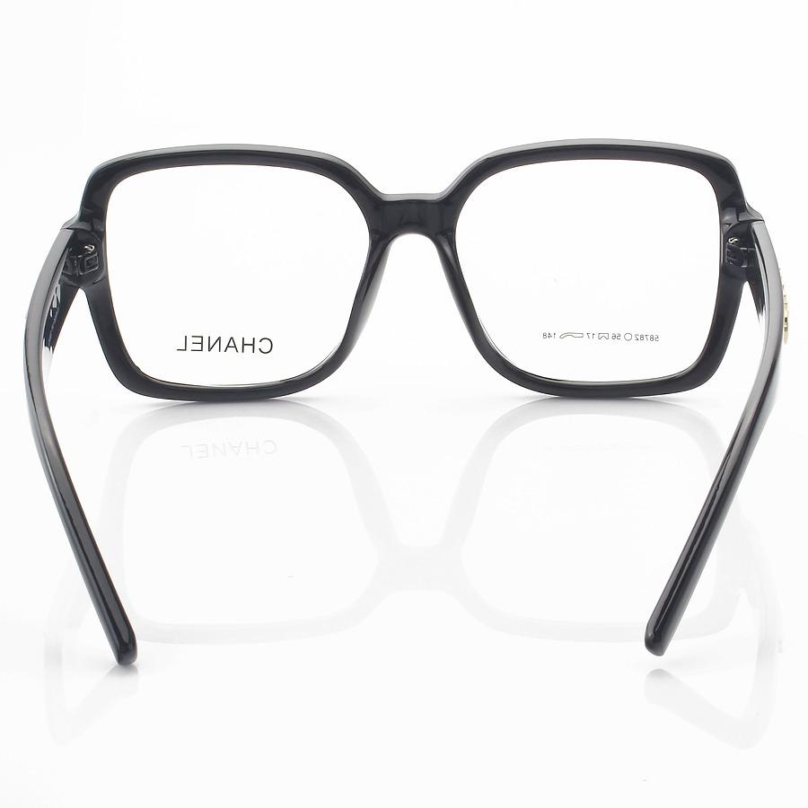 Armação de Óculos Quadrado Chanel CH58782 Preto