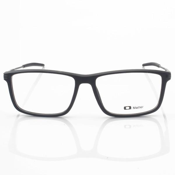 Armacao de Óculos Retangular Oakley Cobalt OX3218 Todo Preto