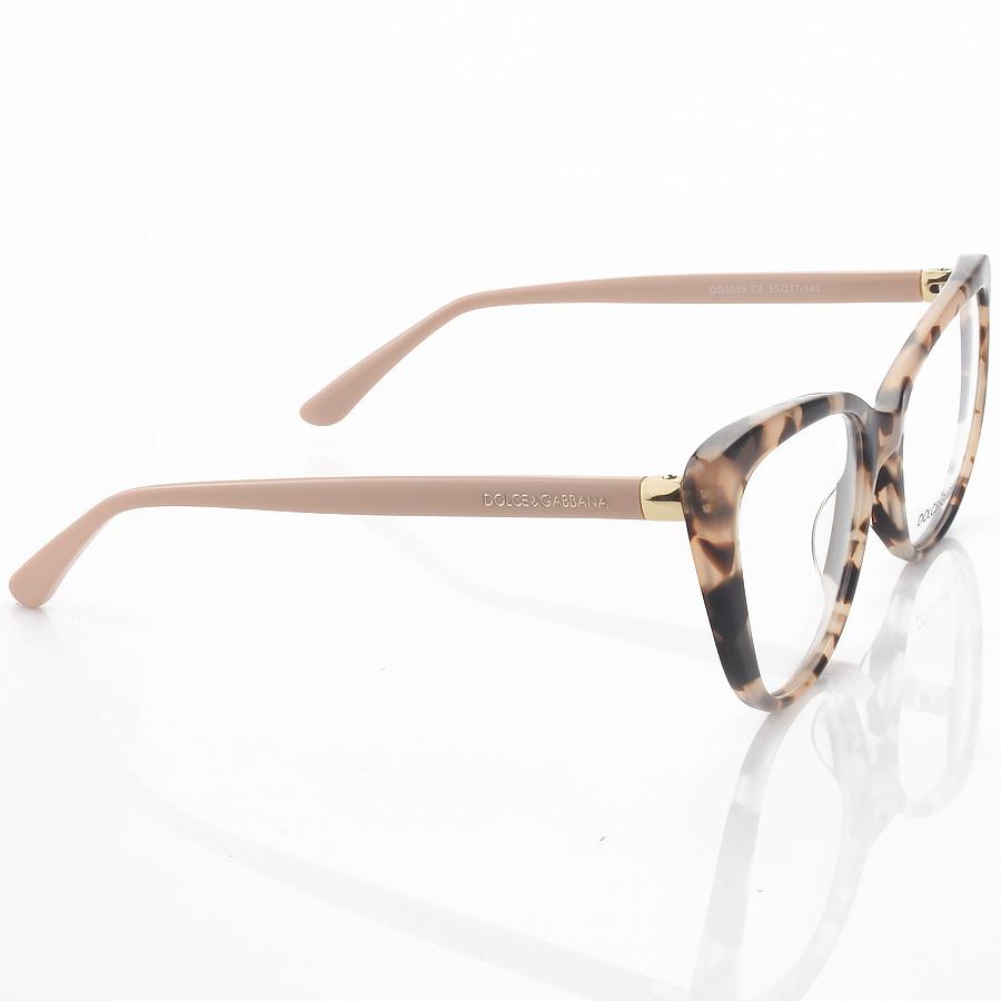 Armação de Óculos Gatinho Dolce & Gabbana DG5039 Rosa Tartaruga