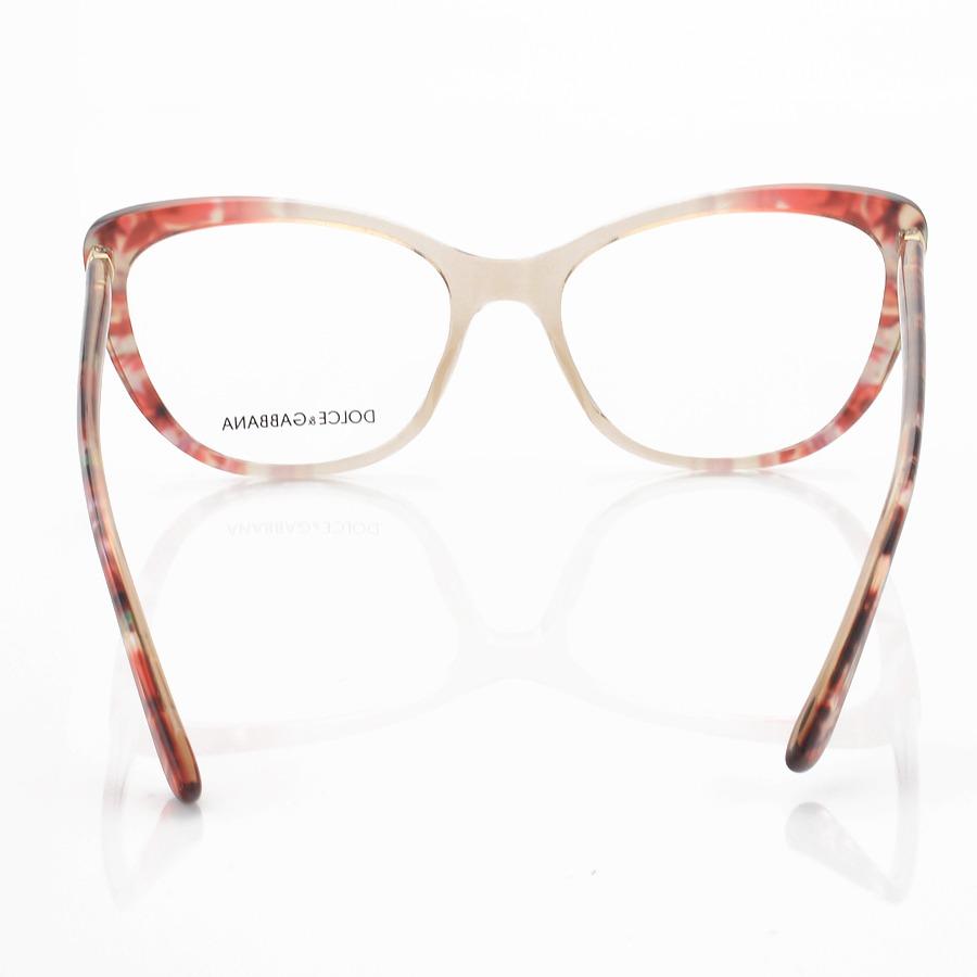 Armação de Óculos Gatinho Dolce & Gabbana DG5039 Floral