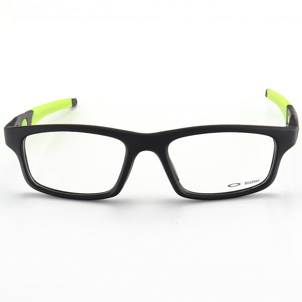 Armação de Óculos Oakley Crosslink OX8037 Preta e Verde