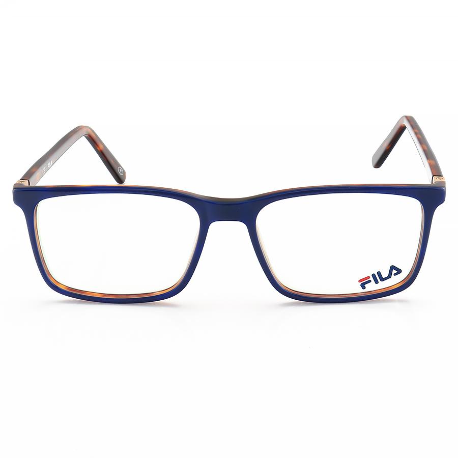 Armação de Óculos Retangular Masculina Fila FL7061 Azul