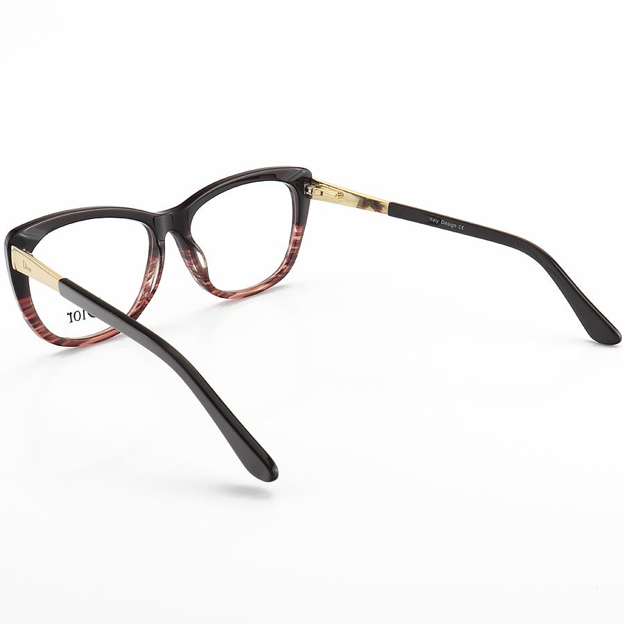 Armação de Óculos Quadrada Dior CD3296 Preta Degrade