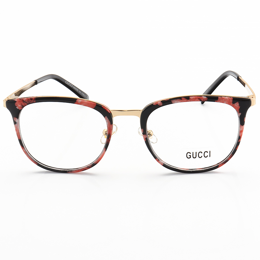 Armação de Óculos Quadrada Gucci GG0343 Floral
