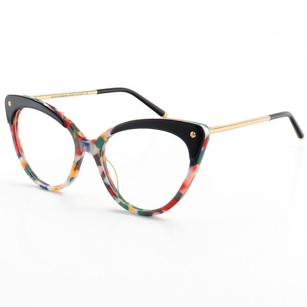 Armação de Óculos Gatinho DG3291 Colorido