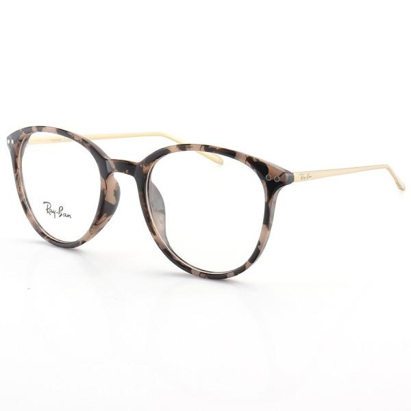 Armação de Óculos Rendonda Ray-Ban RX006 Rosa Tartaruga