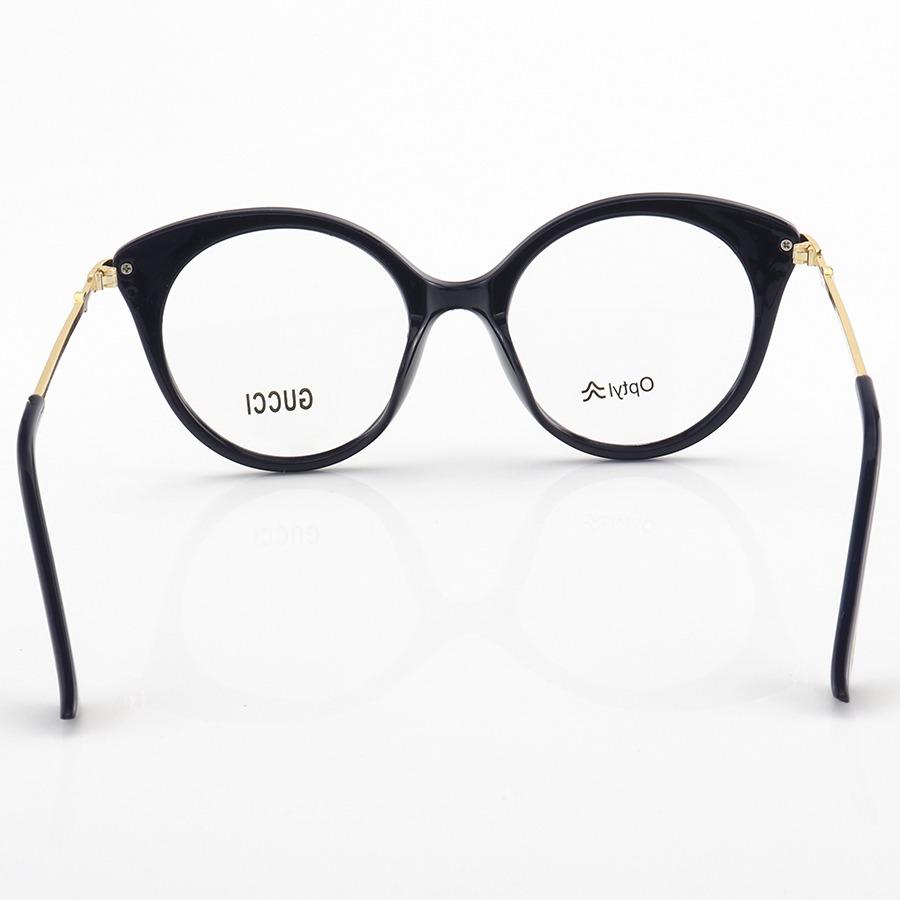 Armação de Óculos Redonda Gucci GG0109 Preta