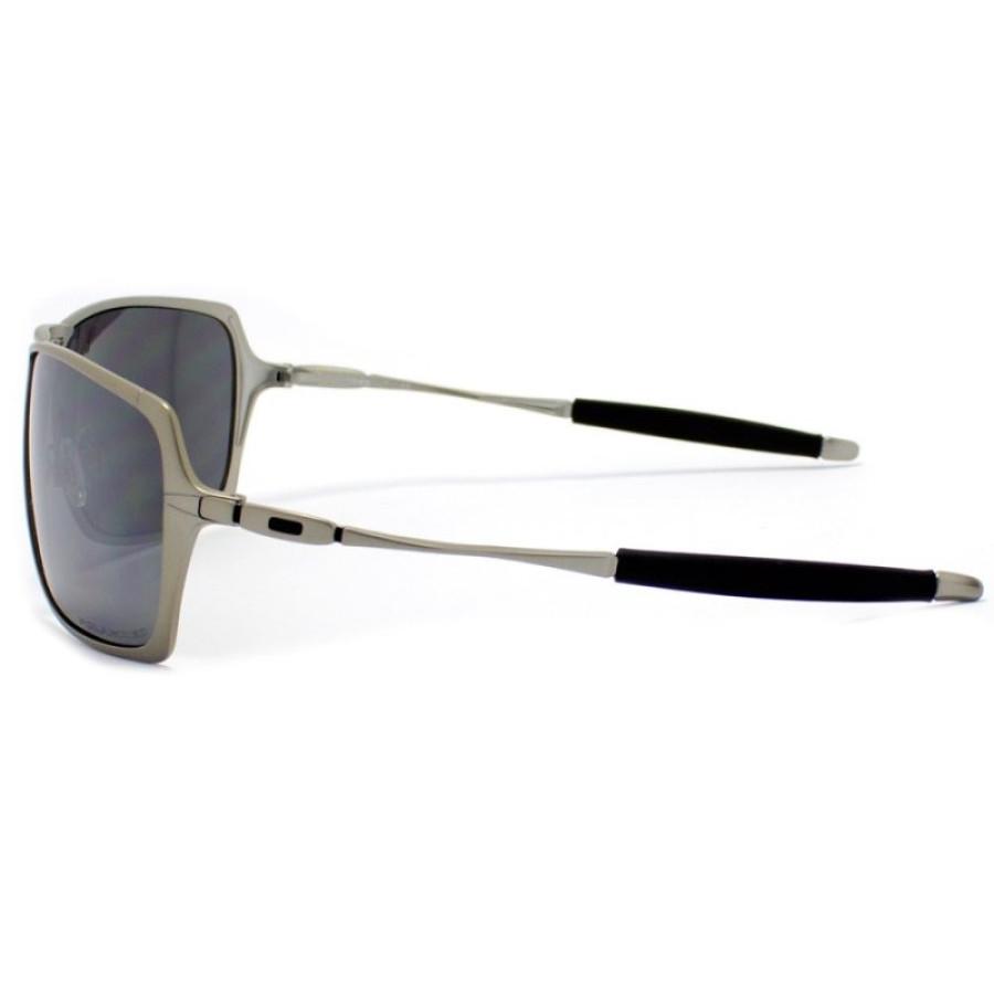 Óculos de Sol Oakley Inmate Metal Grafite e Lente Fume