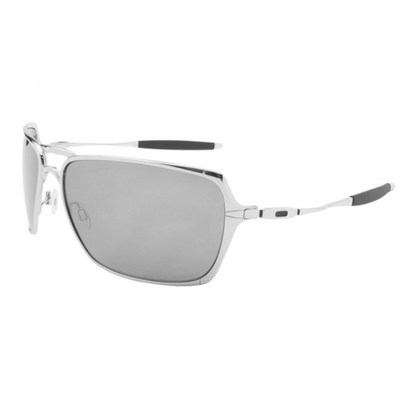 Óculos de Sol Oakley Inmate Metal Cinza Fosca e Lente Cinza Espelhada