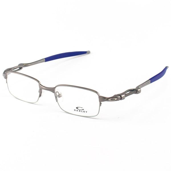 Armacao de Óculos Oakley Coilover OX5043 Grafite e Azul