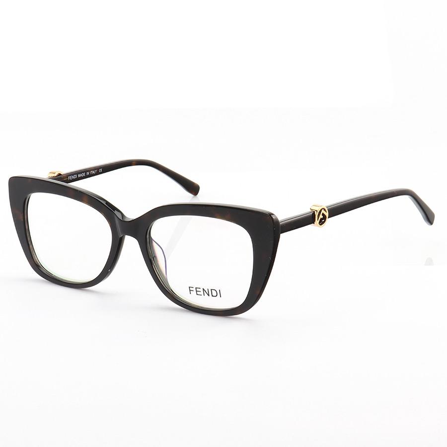 Armação de Óculos Quadrada Dolce & Gabbana FD0413 Marrom