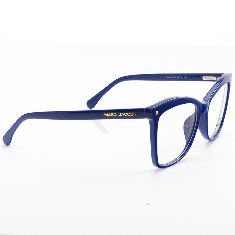 Armacao de Óculos Quadrada Marc Jacobs MJ716 Azul