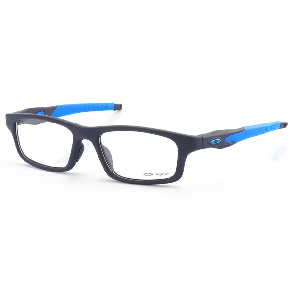 Armação de Óculos Oakley Crosslink OX8037 Todo Azul