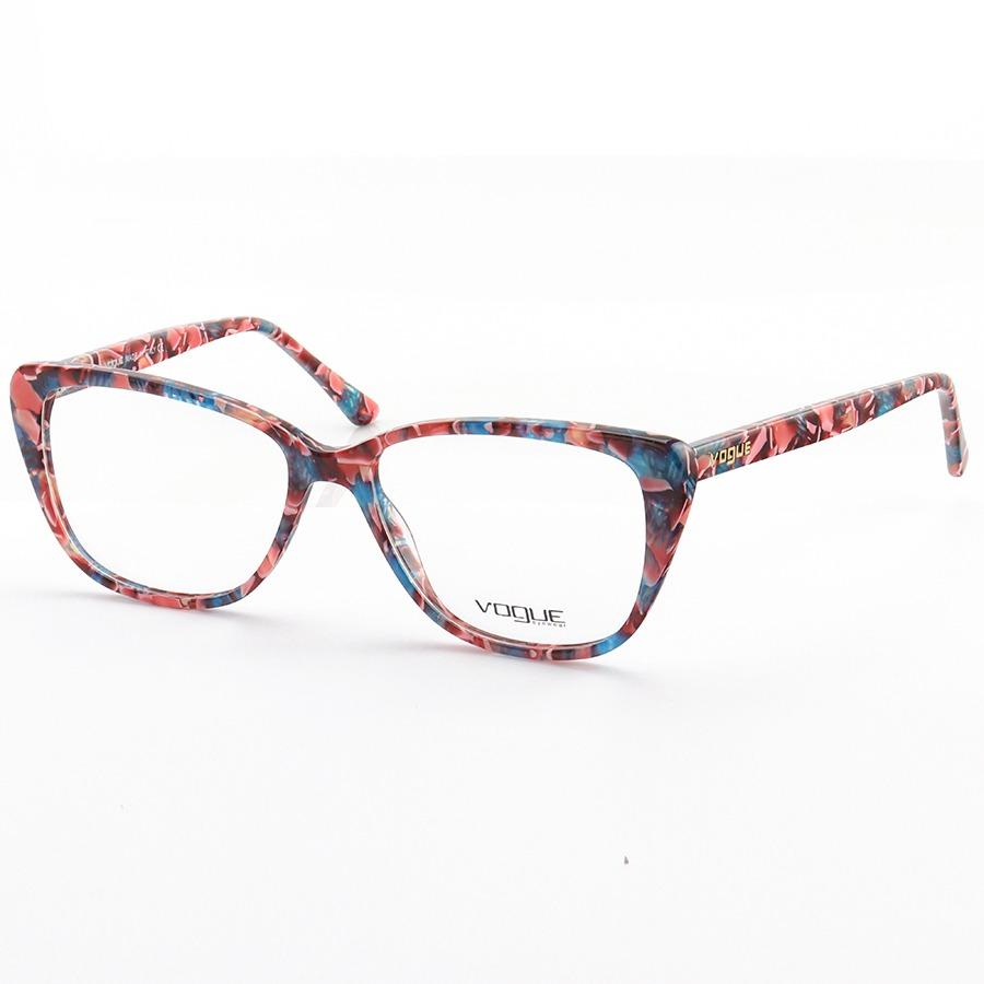 Armação de Oculos Quadrada Vogue VO4192 Colorido