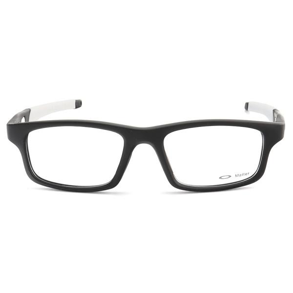 Armação de Óculos Oakley Crosslink OX8037 Preto e Branco