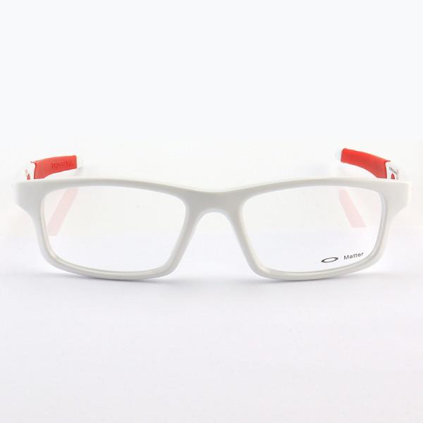 Armação de Óculos Oakley Crosslink OX8037 Branco e Vermelho