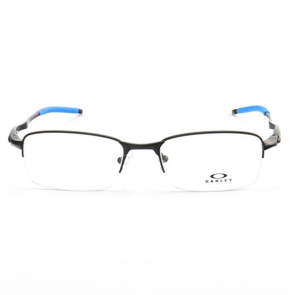 Armação de Óculos Oakley Meio Aro Evade OX3208 Preto e Azul
