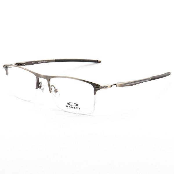 Armação de Óculos Oakley Meio Aro Vulkan OX6637 Grafite
