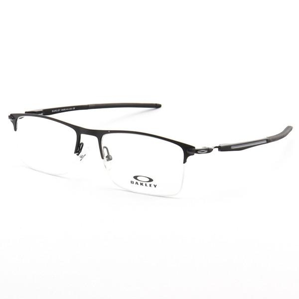Armação de Óculos Oakley Meio Aro Vulkan OX6637 Preto