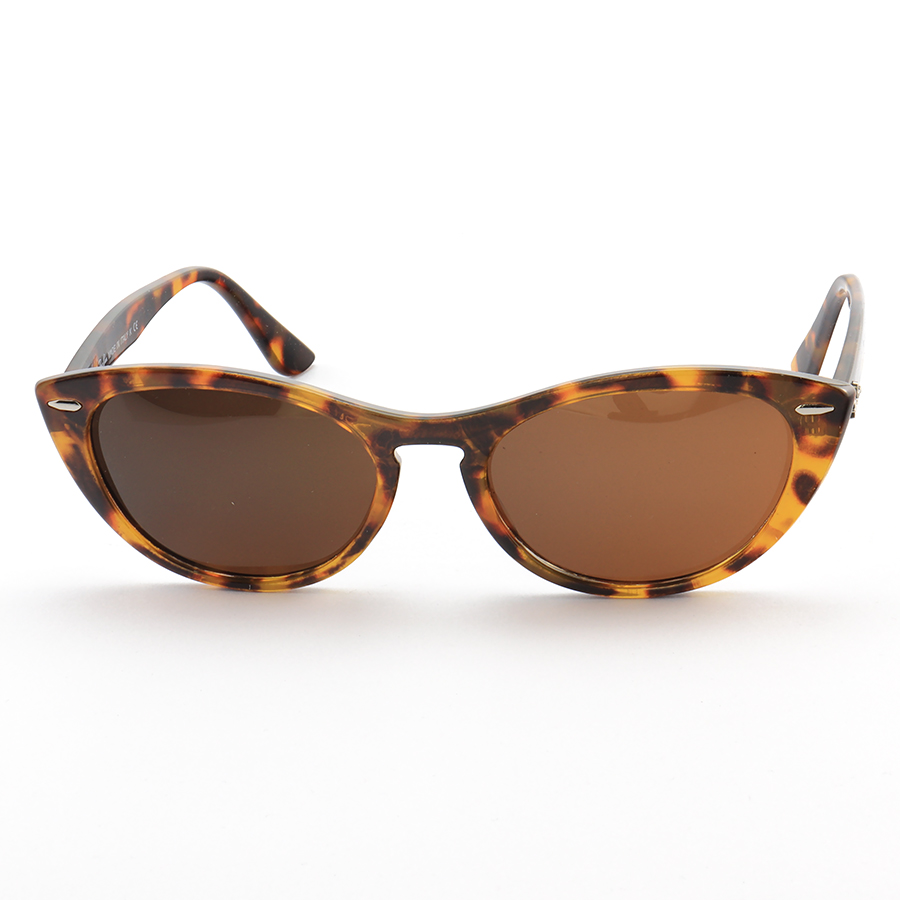 Óculos de Sol Gatinho Ray-Ban Nina RX4314 Tartaruga