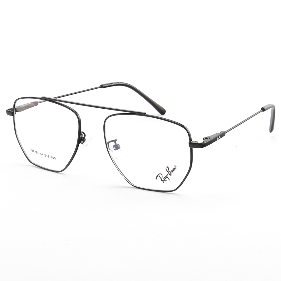 Armacao de Óculos Quadrada Ray-Ban RX8365 General Preto
