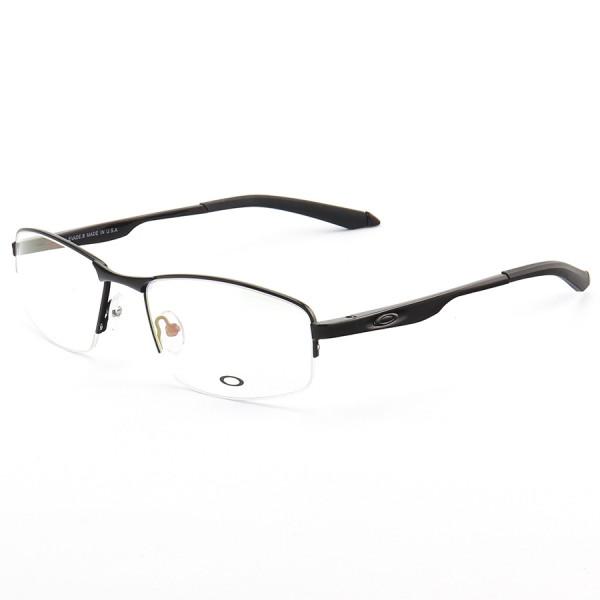 Armação de Óculos Meio Aro Oakley Evade-B OX138 Preto