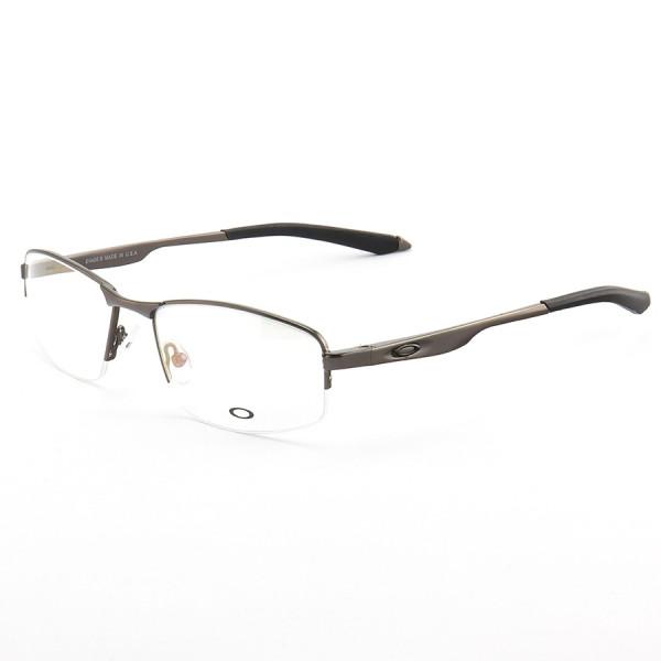 Armação de Óculos Meio Aro Oakley Evade-B OX138 Grafite