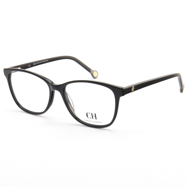Armação de Óculos Quadrada Carolina Herrera VHE779 Preto