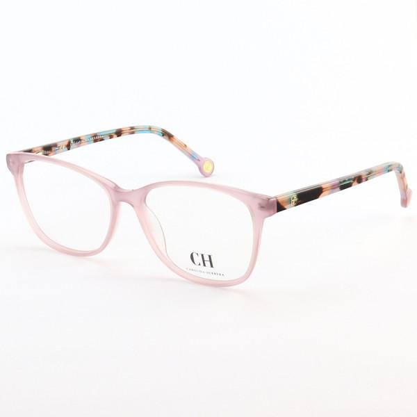 Armação de Óculos Quadrada Carolina Herrera VHE779 Lilás Colorido