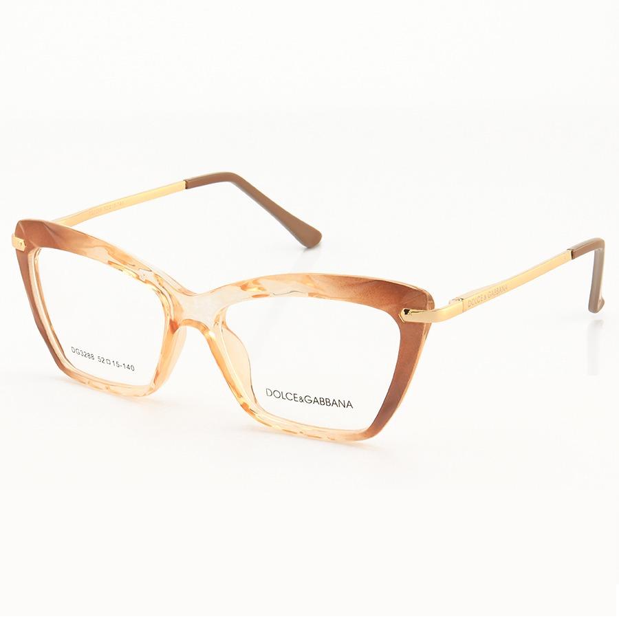 Armação de Óculos Gatinho Dolce & Gabbana DG5025 Nude Desgrade