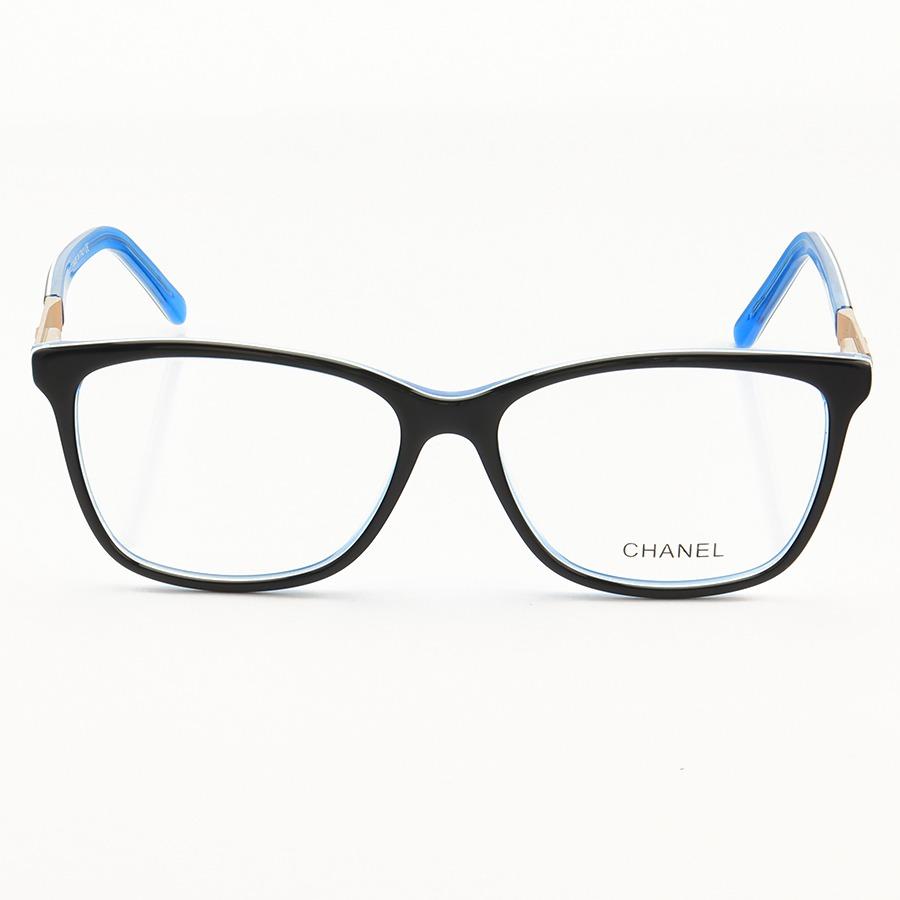 Armação de Óculos Quadrada Chanel CH3501 Azul