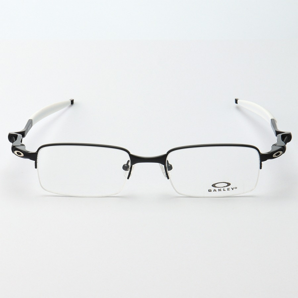 Armacao de Óculos Oakley Coilover OX5043 Preto e Branco