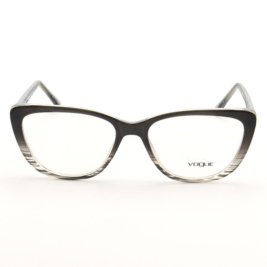 Armação de Oculos Gatinho Vogue LQ93363 Cinza