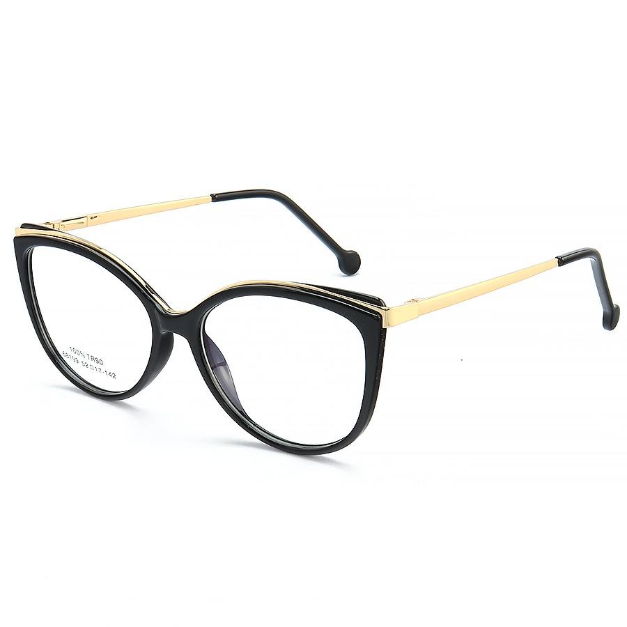 Armação de Óculos Gatinho Alita 68199 Preto