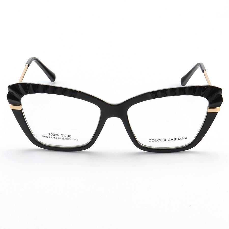 Armação de Óculos Gatinho Dolce & Gabbana DG5050 Preto