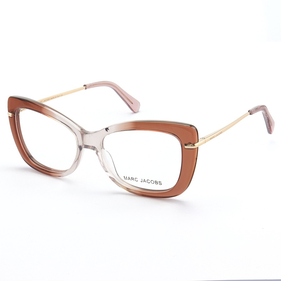 Armação de Óculos Quadrado Marc Jacobs MJ545 Nude Degrade
