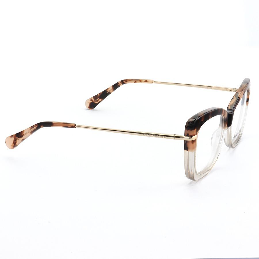 Armação de Óculos Quadrado Marc Jacobs MJ545 Tartaruga Degrade