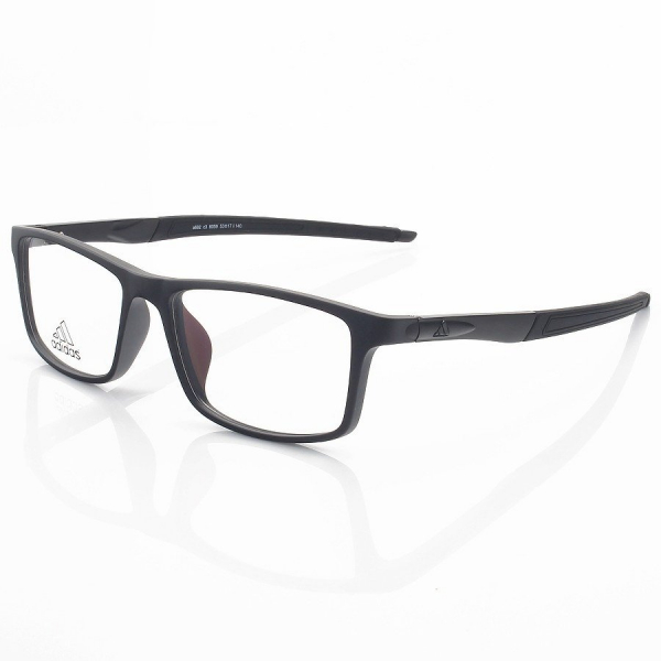 Armação de Óculos Retangular Adidas A692 Preto