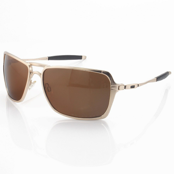 Óculos de Sol Oakley Inmate Metal Dourado e Lente Marrom